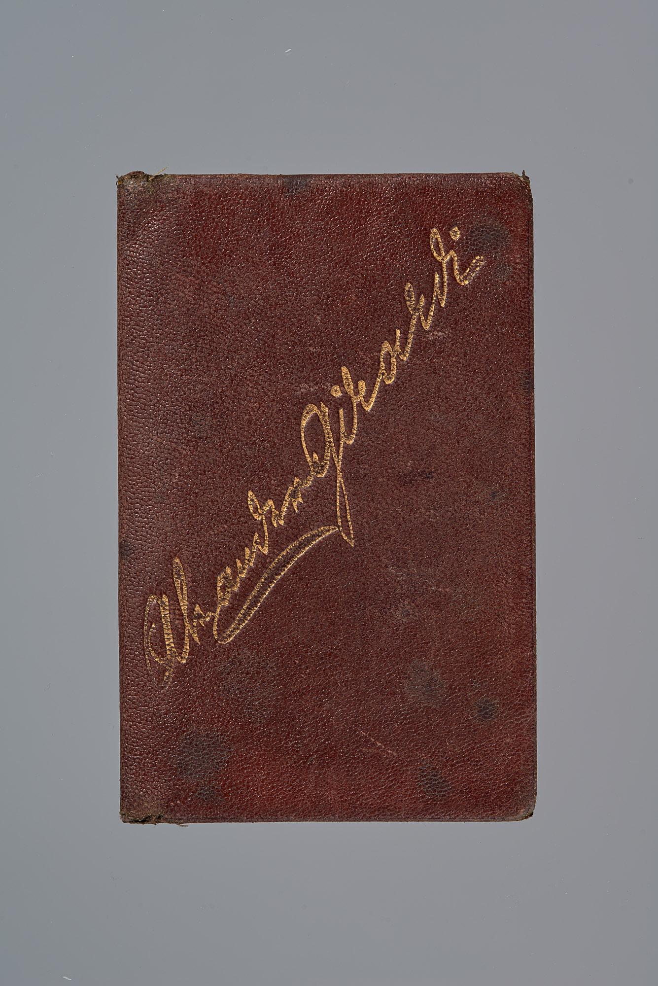 Brieftasche von Alexander Girardi