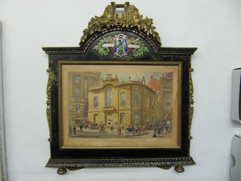 Altes Burgtheater von Ladislaus Eugen Petrovits