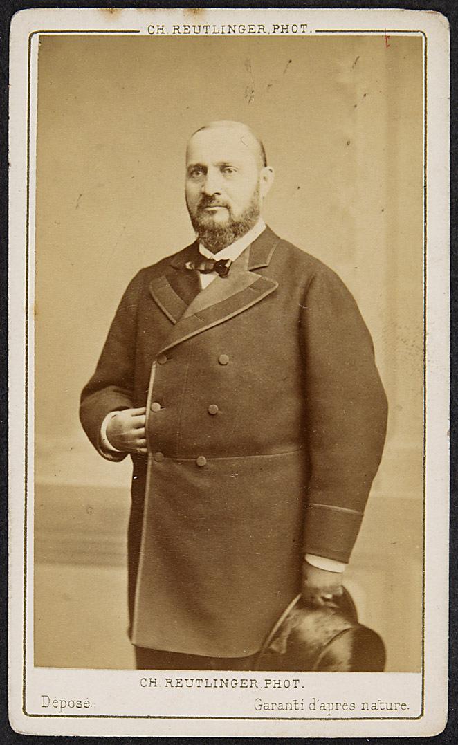 Enrico Tamberlick von Ch. Reutlinger Phot., Paris