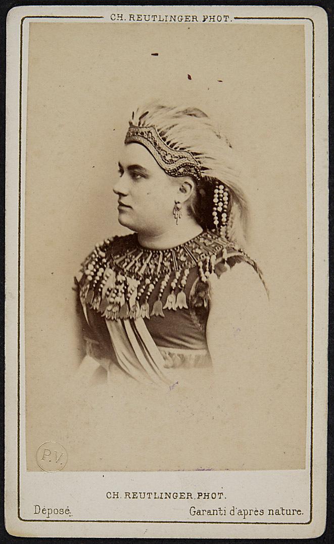 Marie Sax von Ch. Reutlinger Phot., Paris