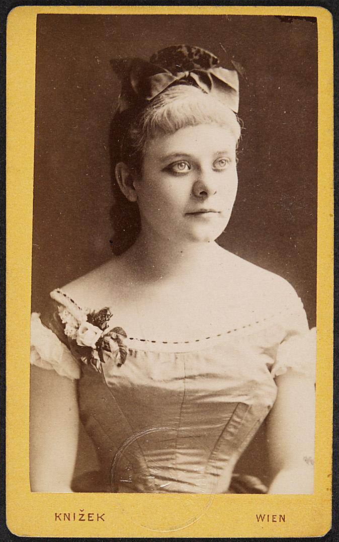 Rosa Streitmann von Knizeks´s, Wien