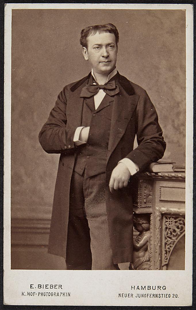 Adolf Ritter von Sonnenthal von Bieber, Emil. Berlin/Hamburg