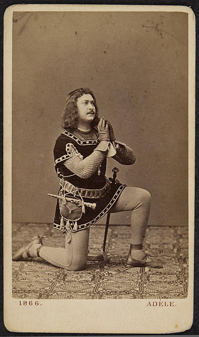 Adolf Ritter von Sonnenthal von Adele K.u.K Hof-Atelier, Wien