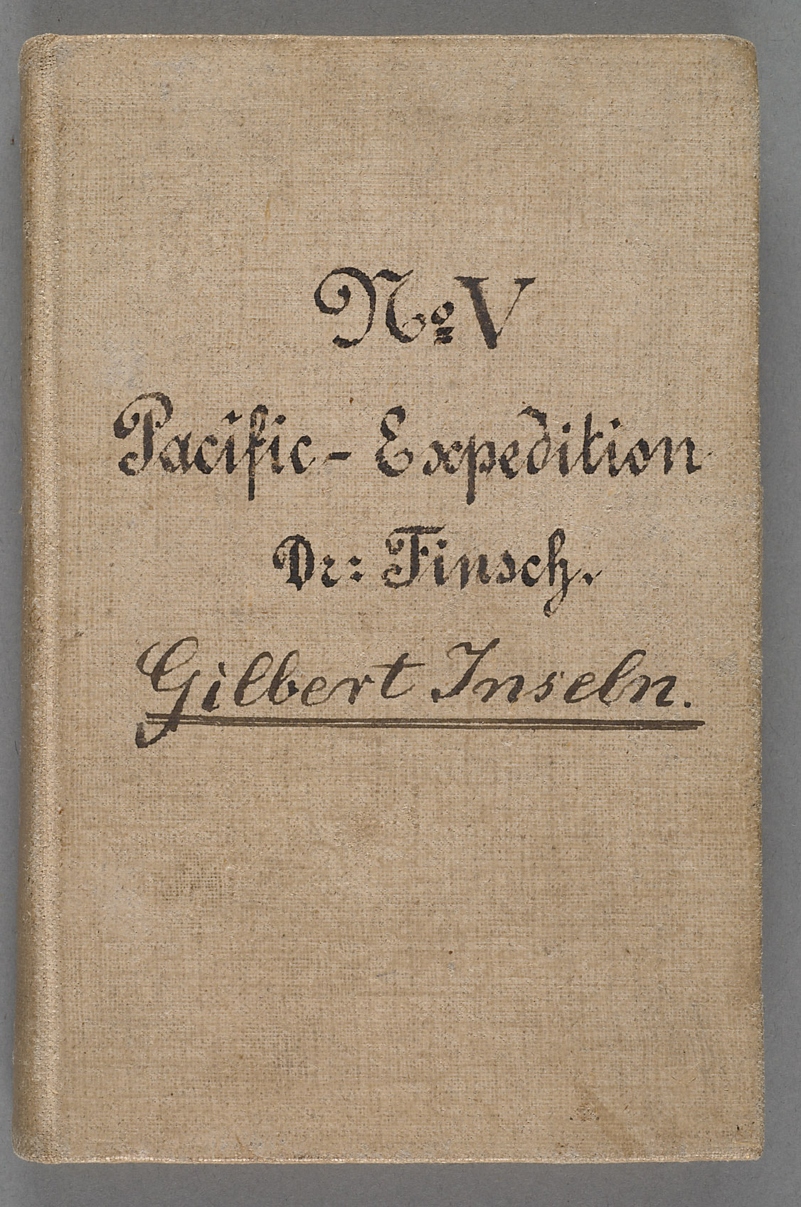 Nachlass Dr. Otto Finsch, Tagebuch V