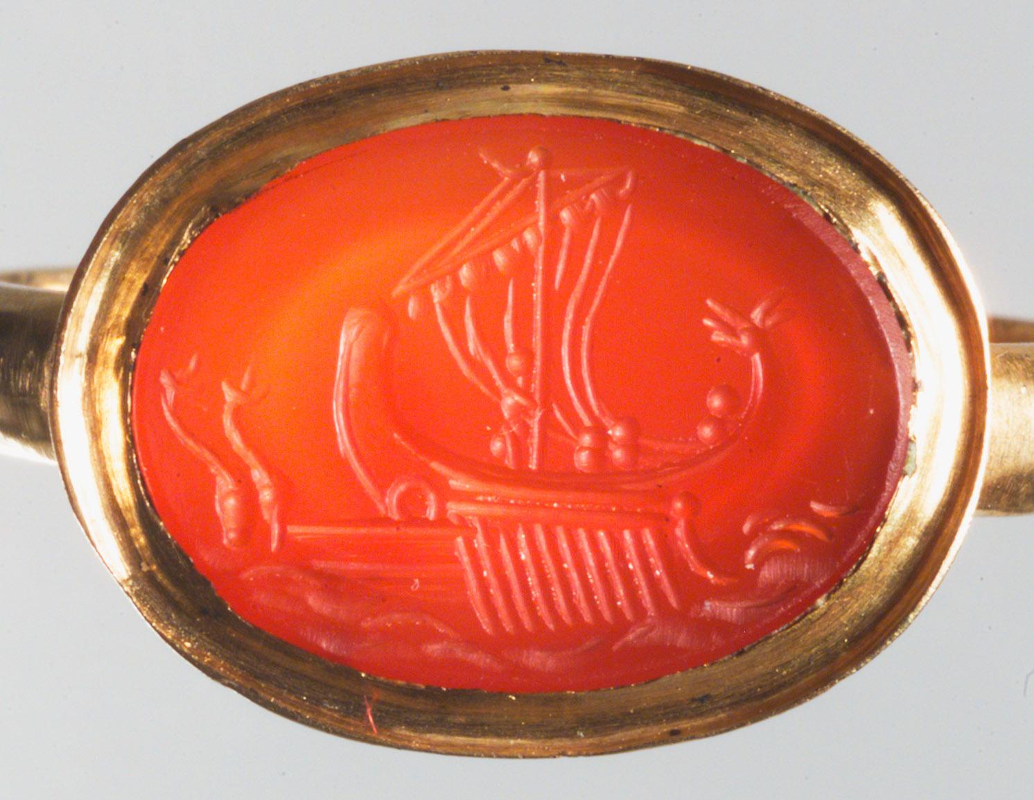 Odysseus beim Sirenenabenteuer