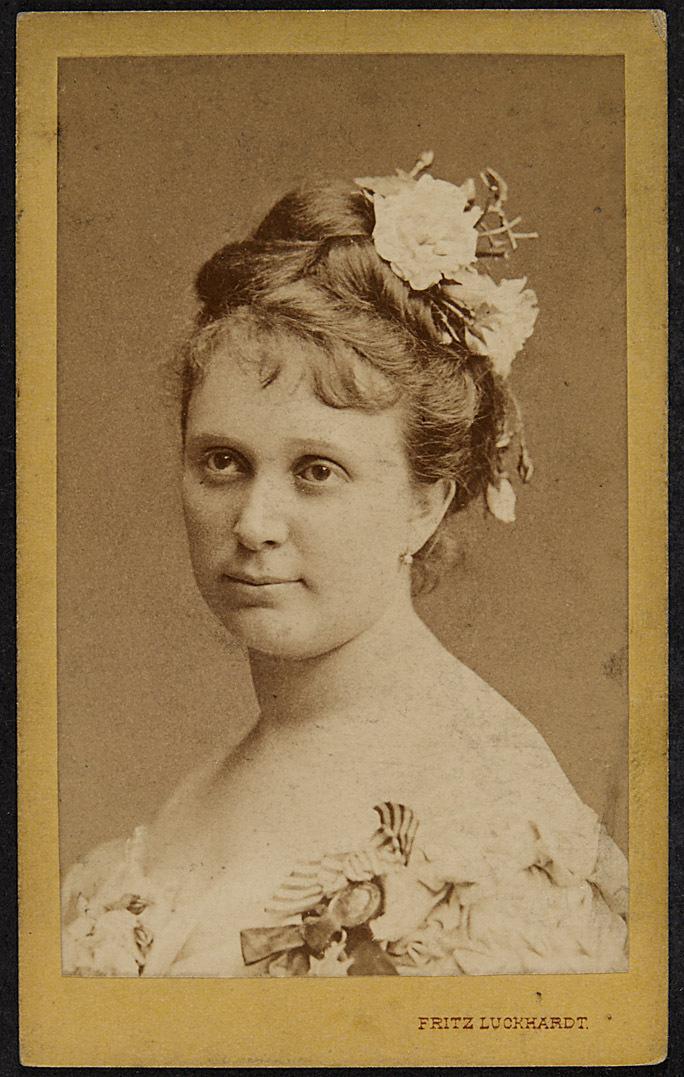 Mathilde Mallinger von Fritz Luckhardt, Wien