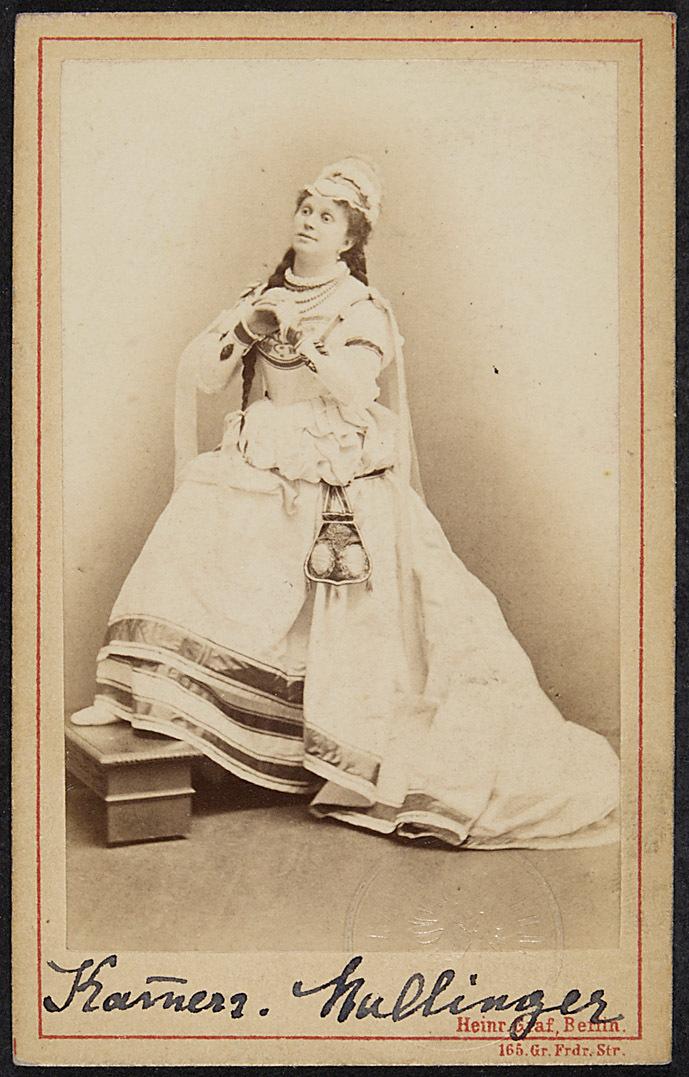 Mathilde Mallinger von Heinrich Graf, Berlin