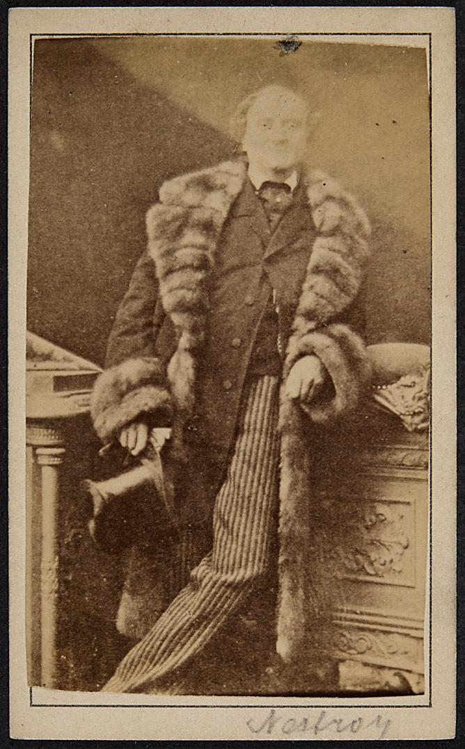 Johann Nepomuk Nestroy von R. von Prus, Wien