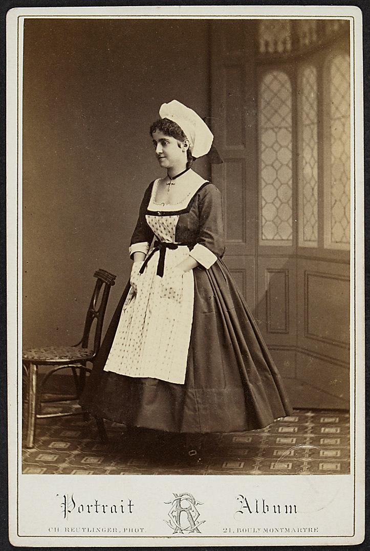 Adelina Patti von Ch. Reutlinger Phot., Paris