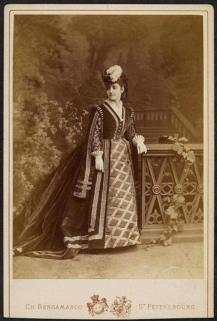 Adelina Patti von Bergamasco, St. Petersburg