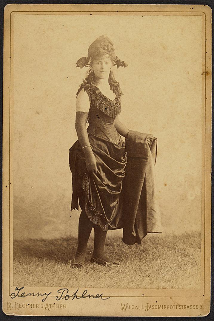Jenny Pohlner von R. Lechner, Wien