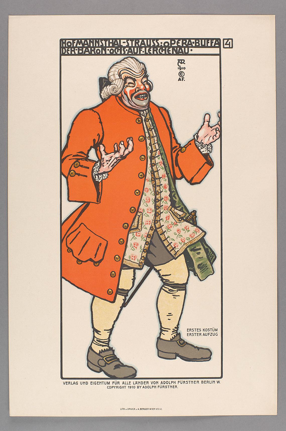 Der Rosenkavalier von Alfred Roller
