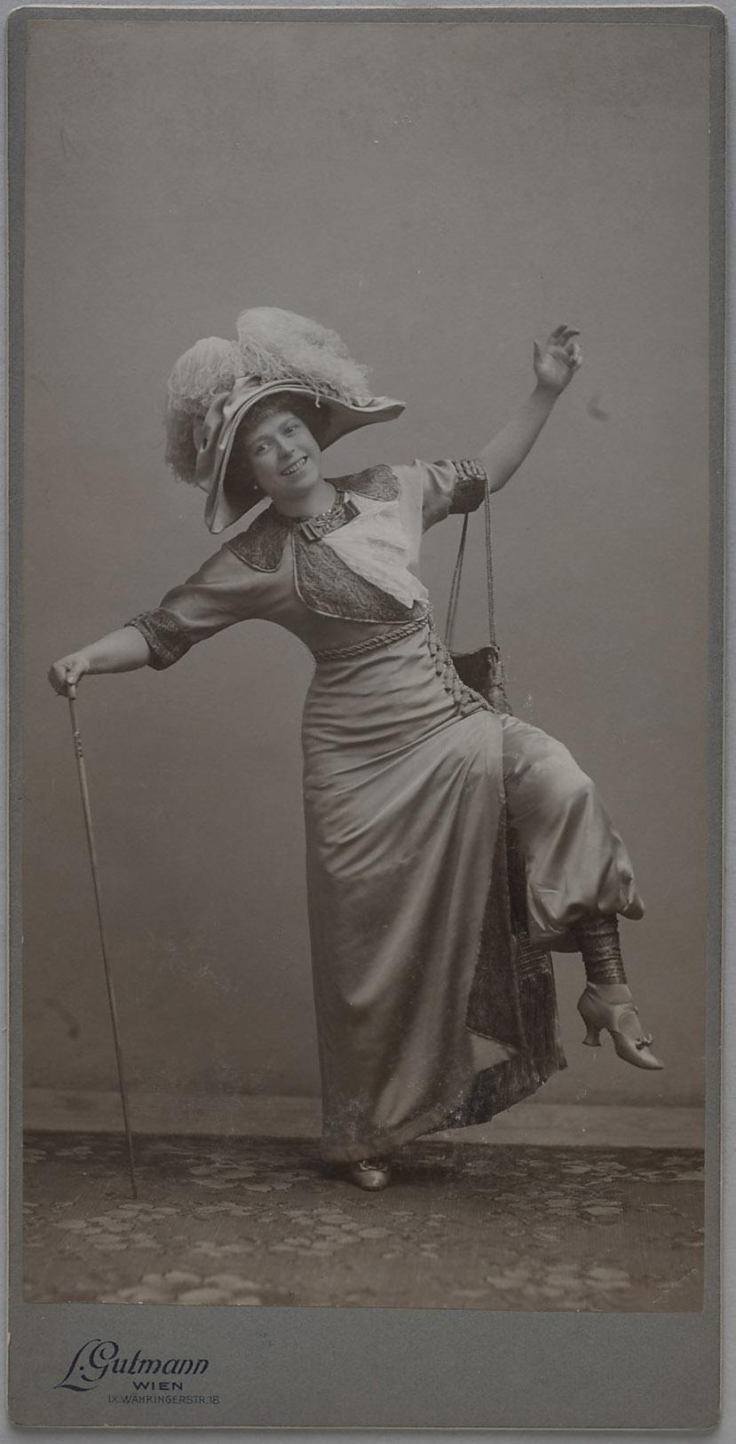 Louise Kartousch von Ludwig Gutmann, Wien