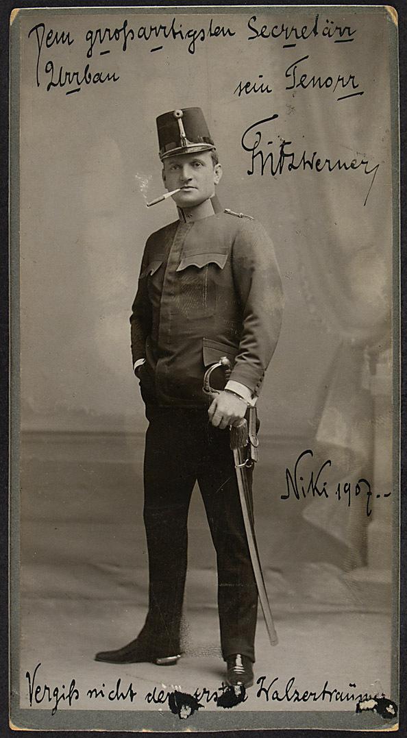 Fritz Werner von Ludwig Gutmann, Wien