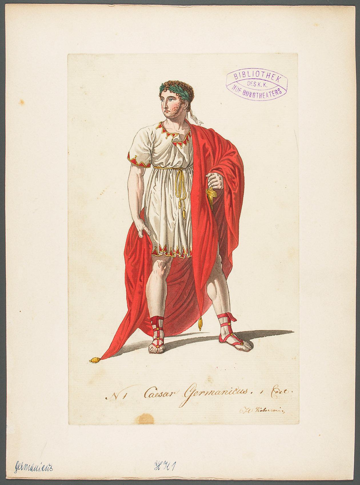 Germanicus von Philipp von Stubenrauch