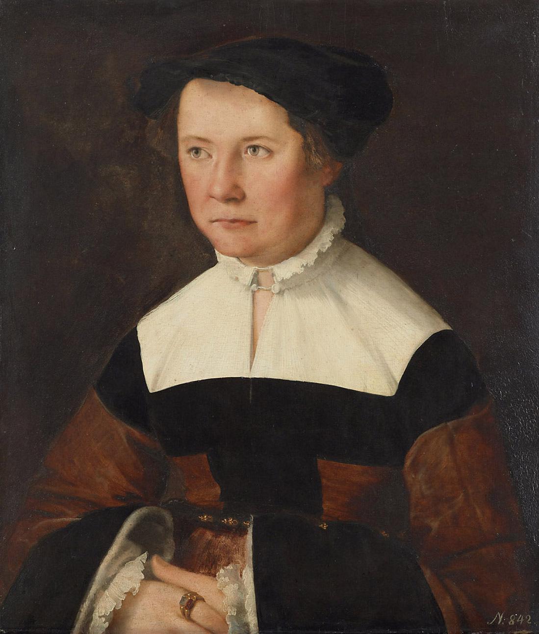 Bildnis der Sibilla Eiselin von Christoph Amberger