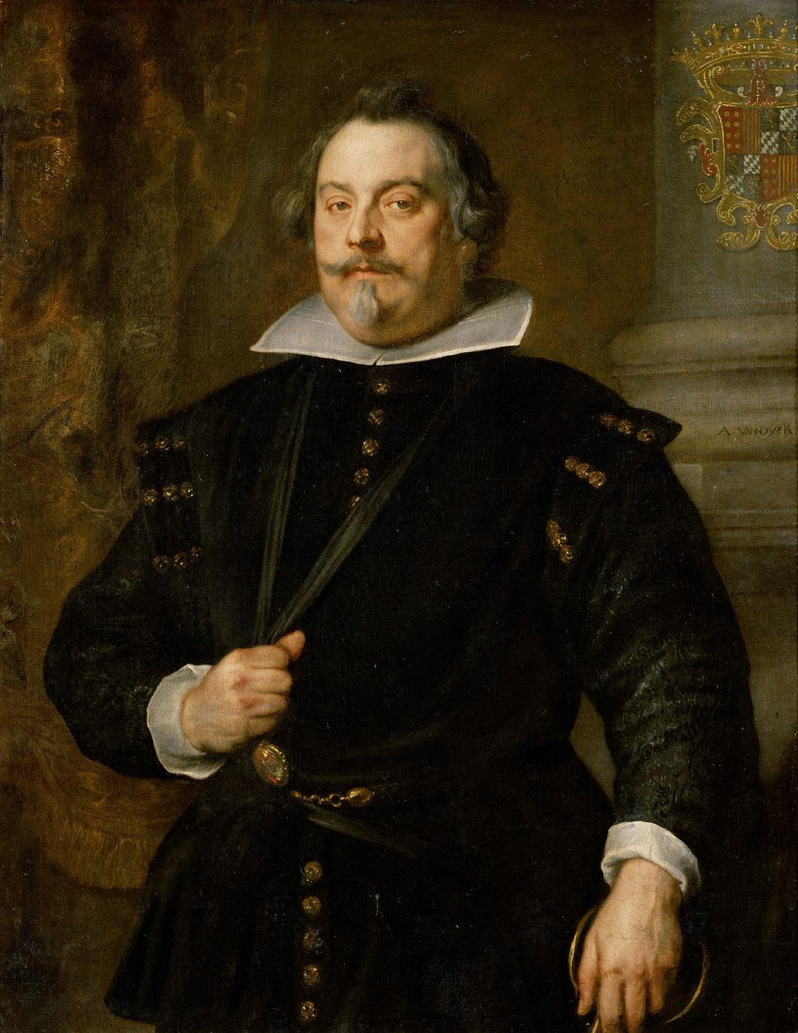Francisco de Moncada, Marqués de Aytona von Anthonis van Dyck