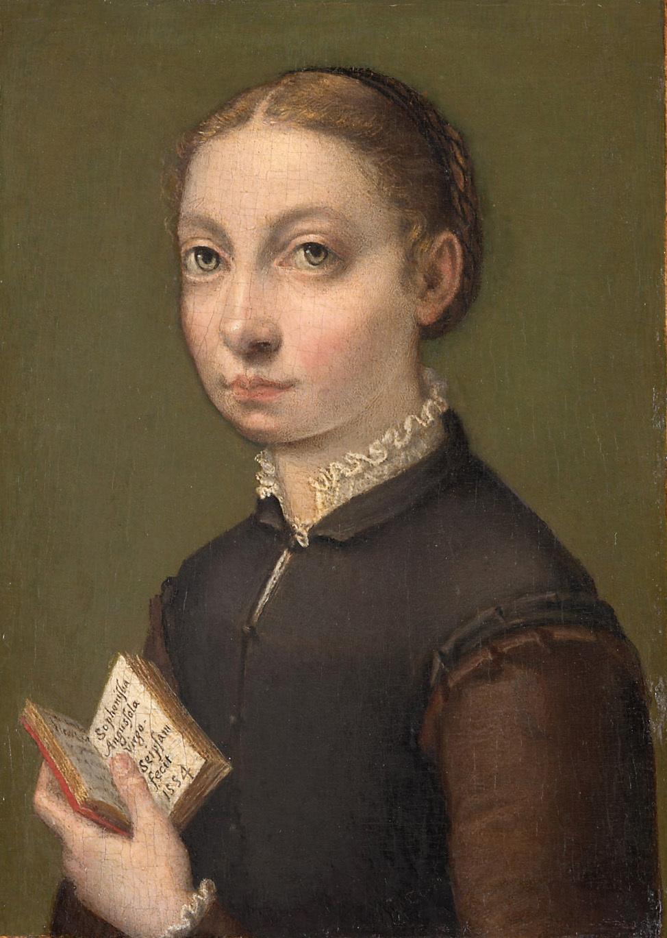Selbstbildnis von Sofonisba Anguissola