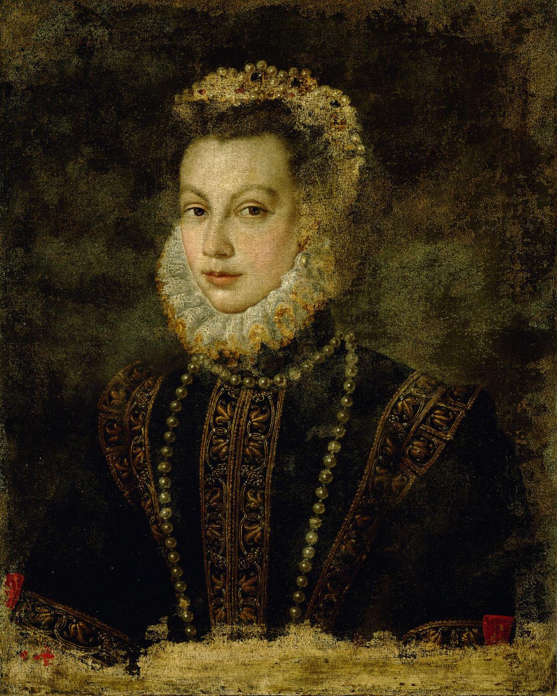 Isabel von Valois (1545-1568) von Sofonisba Anguissola