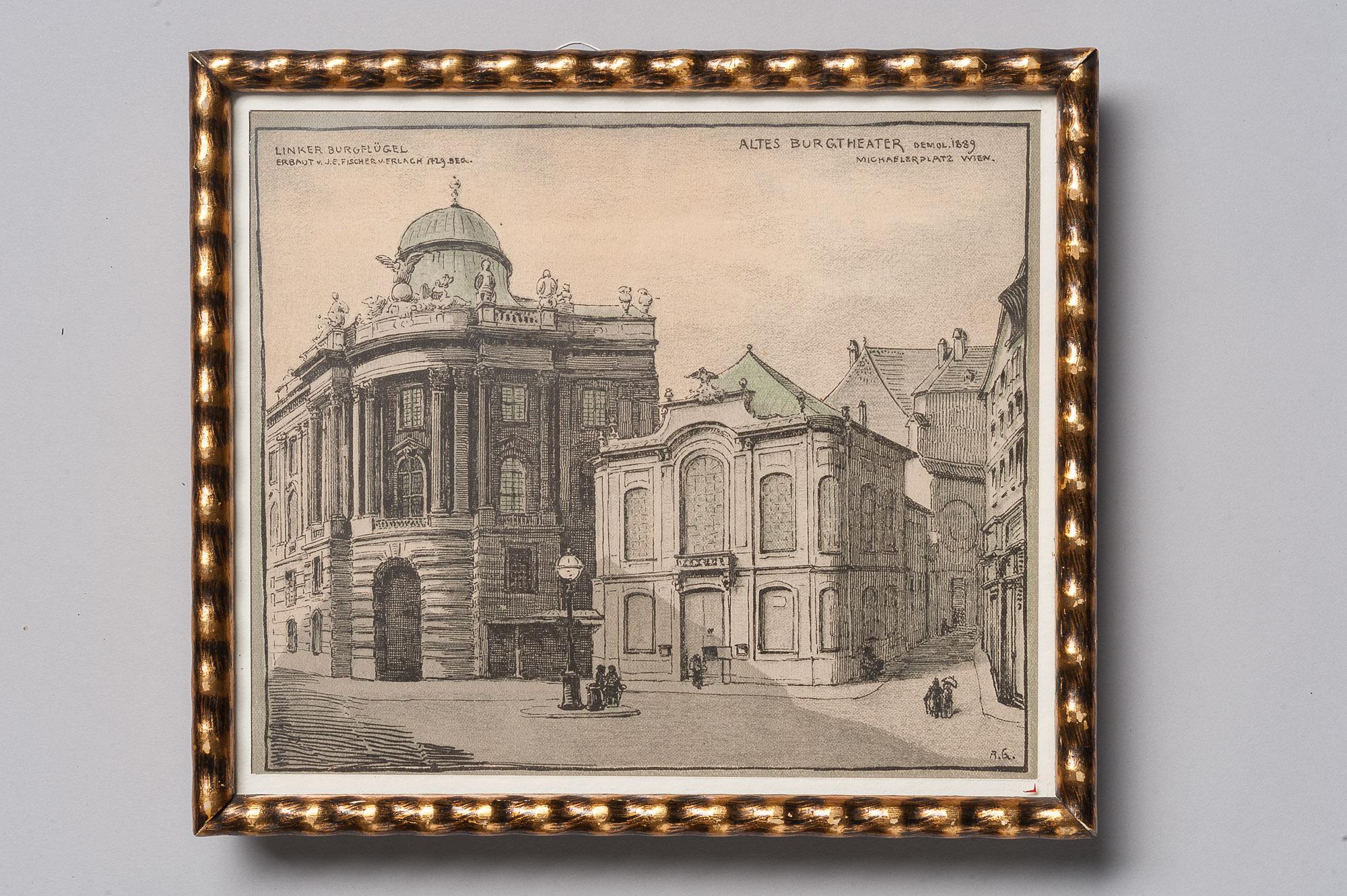 altes Burgtheater am Michaelerplatz von Altes Burgtheater
