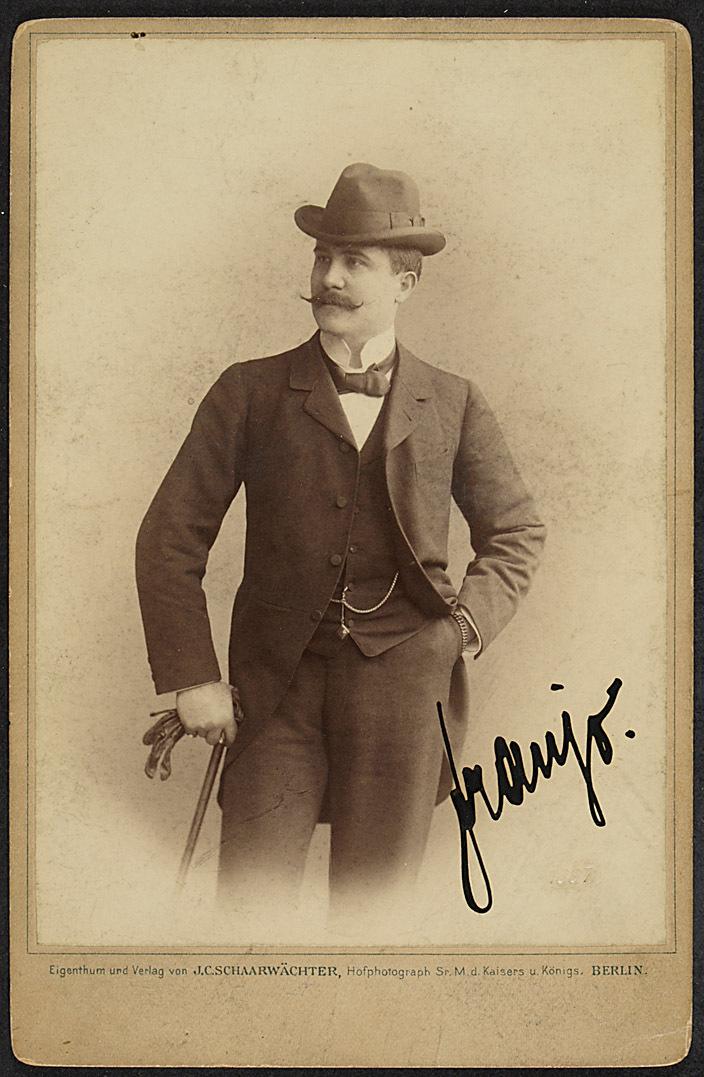 Franz Naval von J. C. Schaarwächter, Berlin
