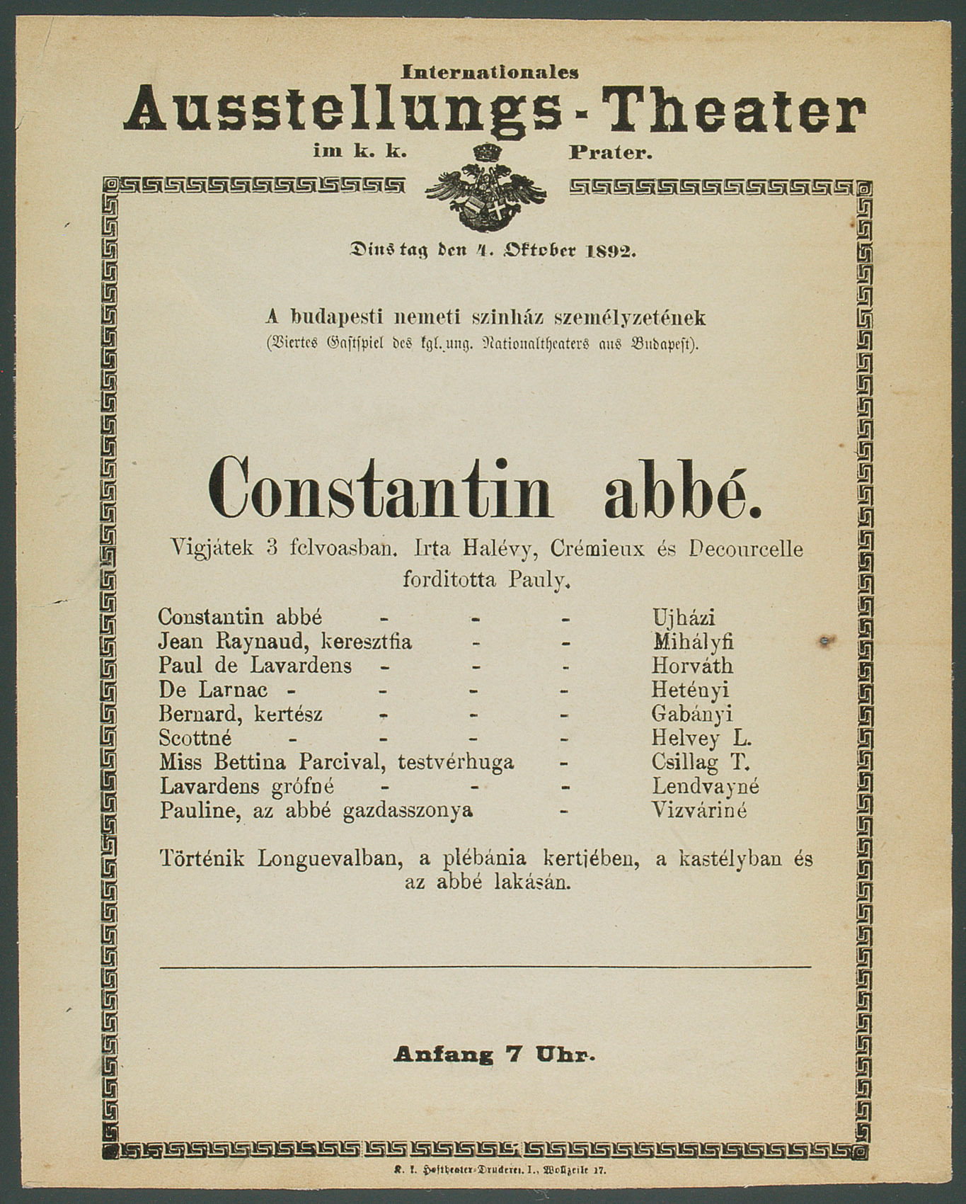 L'Abbé Constantin von Ludovic Halévy