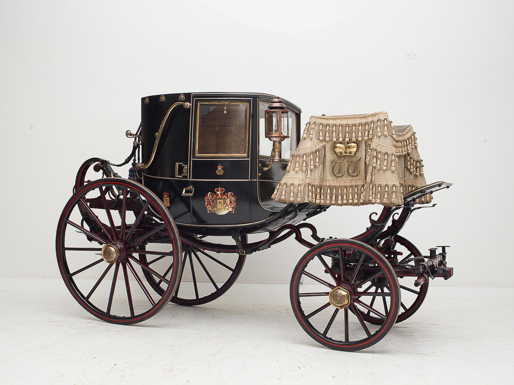Zweisitziger Stadtwagen (Coupé) des Fürsten Maximilian Karl von Thurn und Taxis von Simon Brandmayer