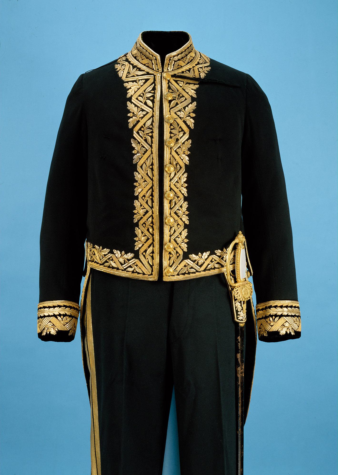 Uniform eines Beamten der Kabinettskanzlei, IV. Rangsklasse (Kabinettsdirektor)
