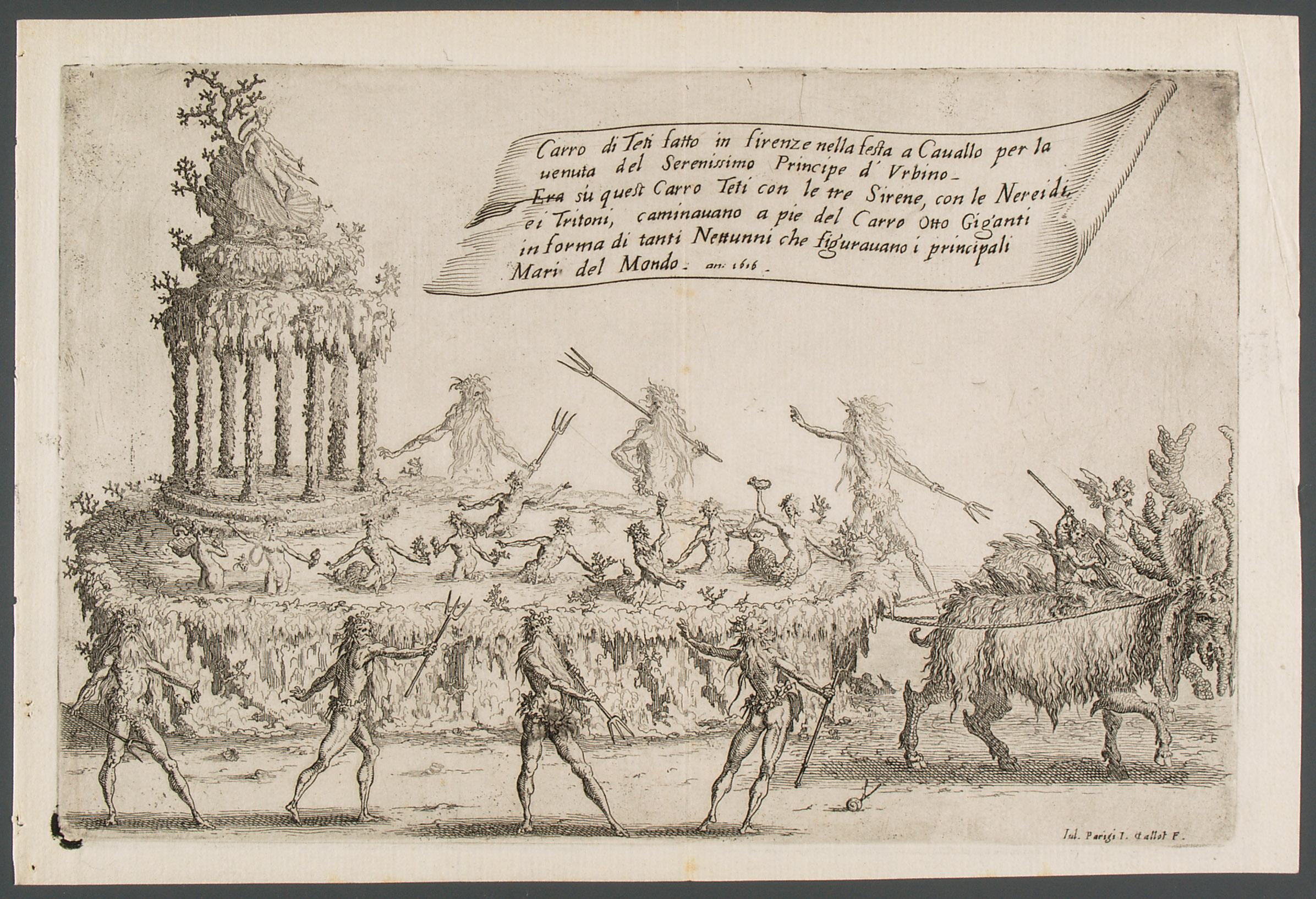 Guerra di bellezza von Giulio Parigi