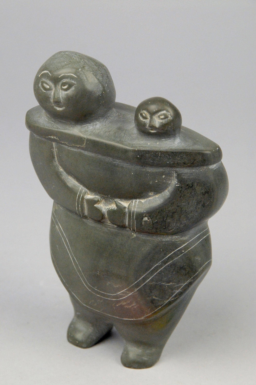 Frau und Kind von Annie Niviaxie