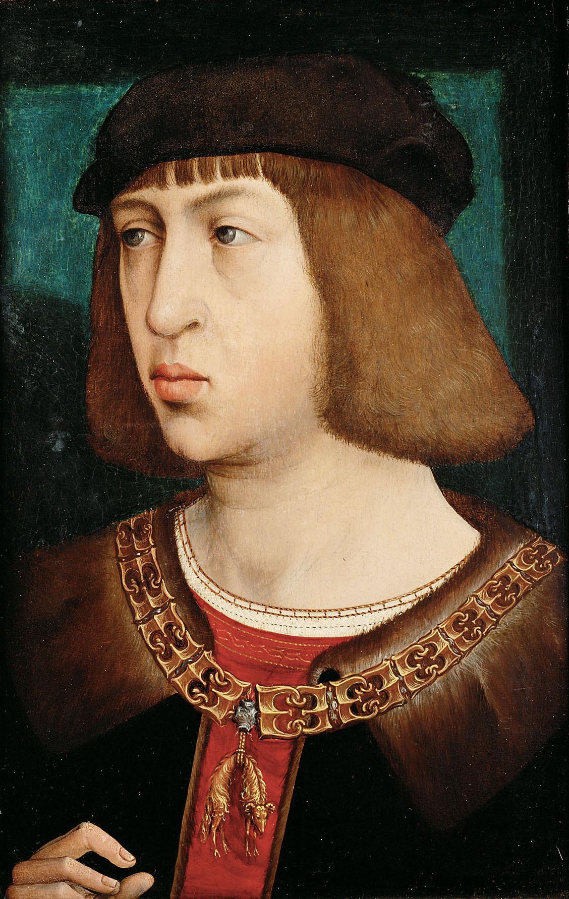 Philipp der Schöne (1478-1506) von Juan de Flandes