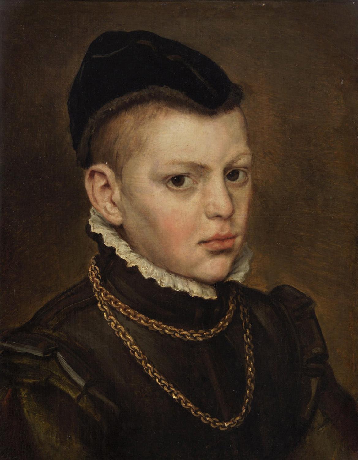 Brustbild eines Knaben von Frans de Vriendt, gen. Floris
