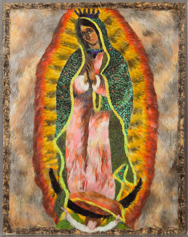 Unsere Liebe Frau von Guadalupe von Gabriel Olay Olay