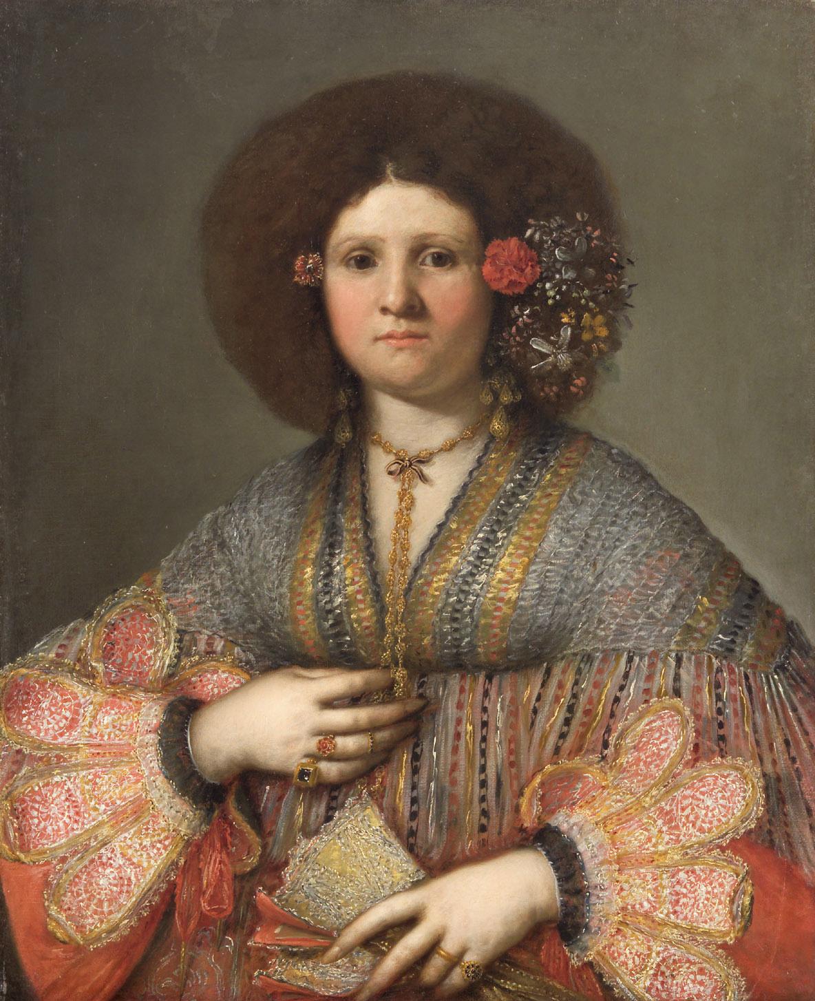 Bildnis einer Venezianerin von Gerolamo Forabosco