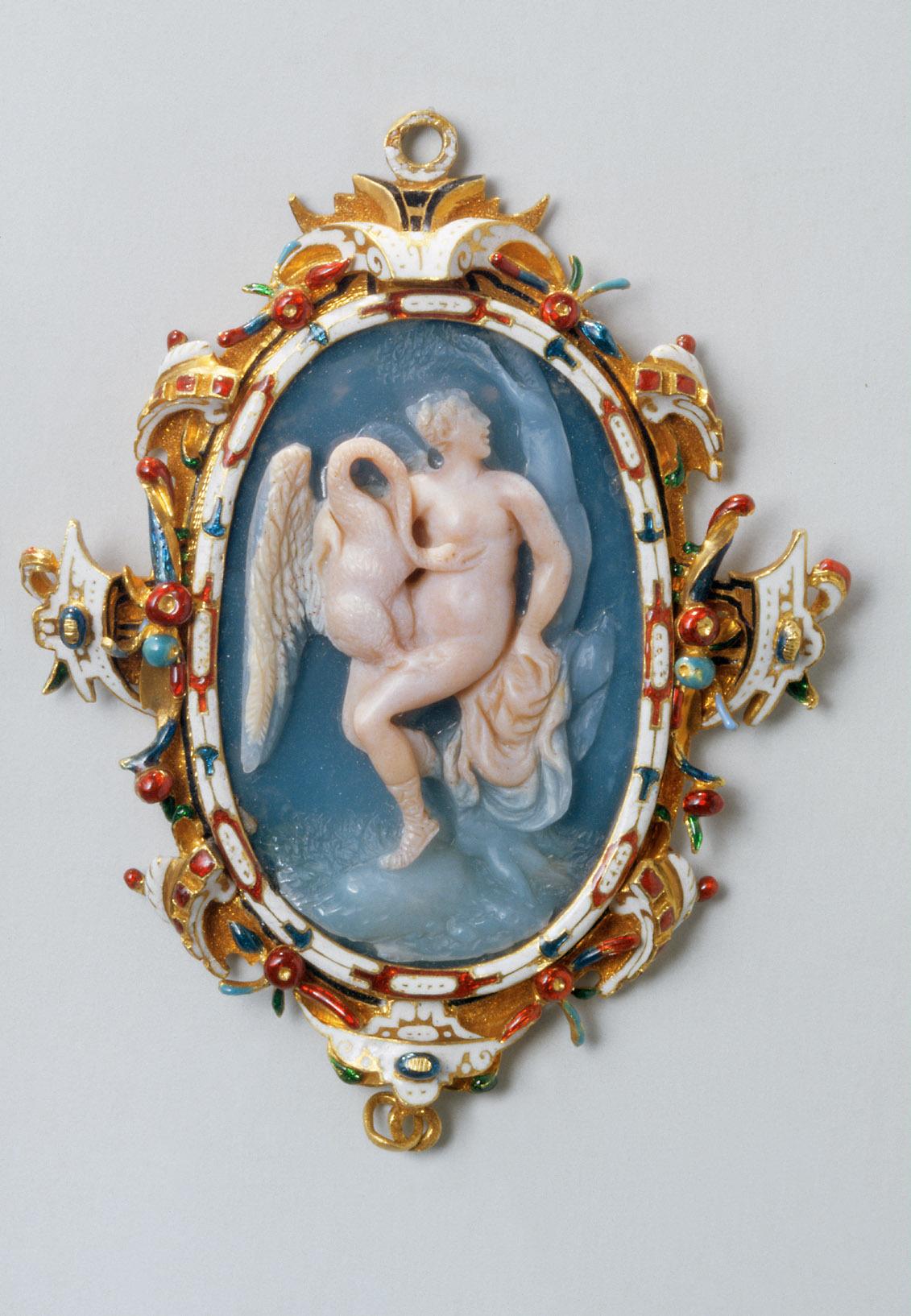 Leda mit dem Schwan von Alessandro Masnago