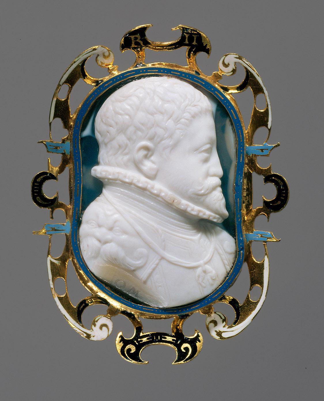 Kaiser Rudolf II. von Ottavio Miseroni