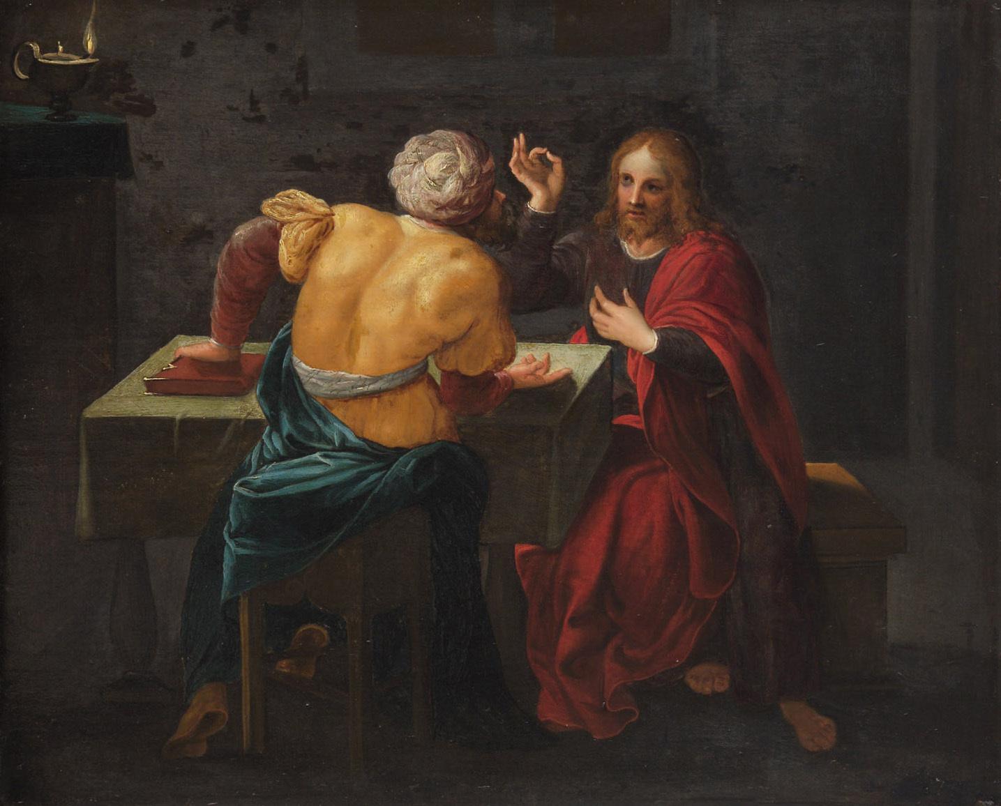 Christus und Nikodemus von Frans II. Francken