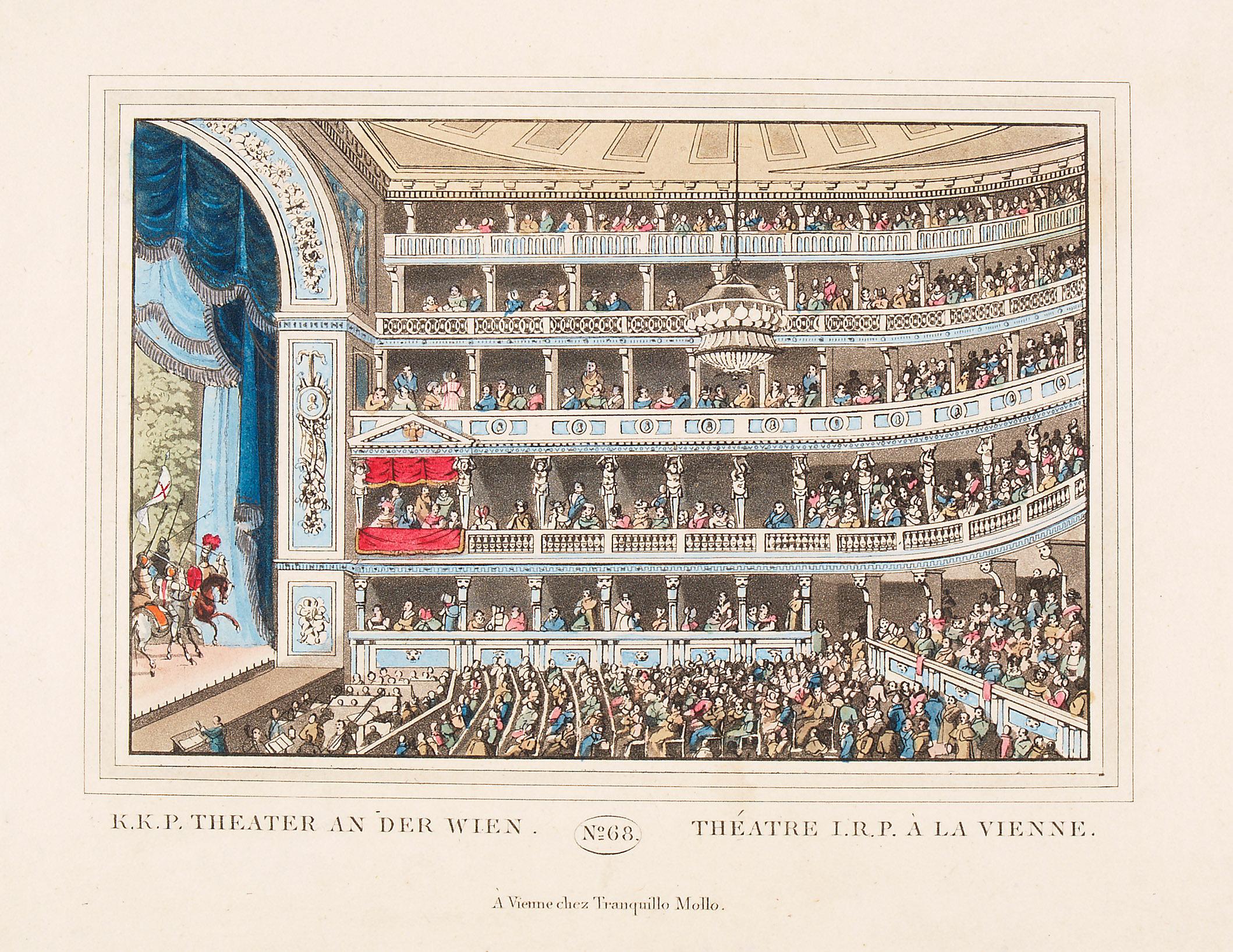 Wien, Theater an der Wien von anonym