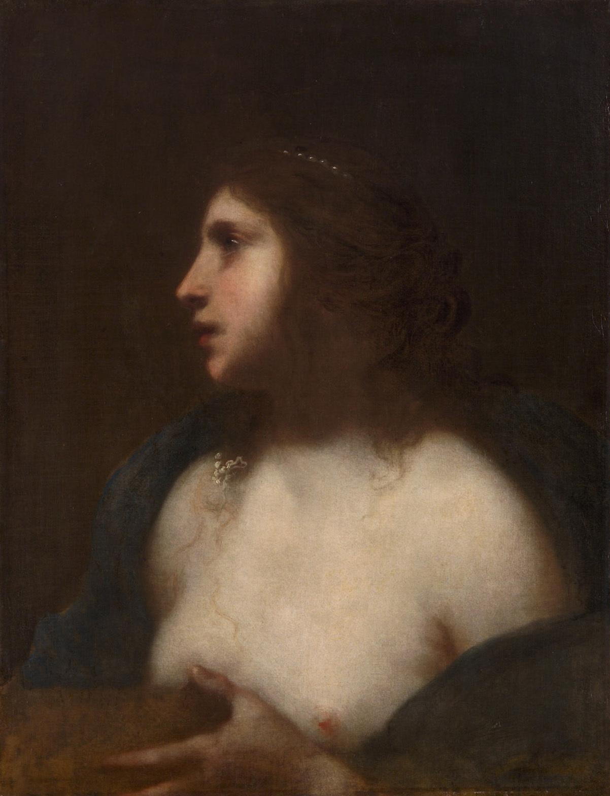 Büßende Maria Magdalena (?) (Halbfigur) von Francesco Furini