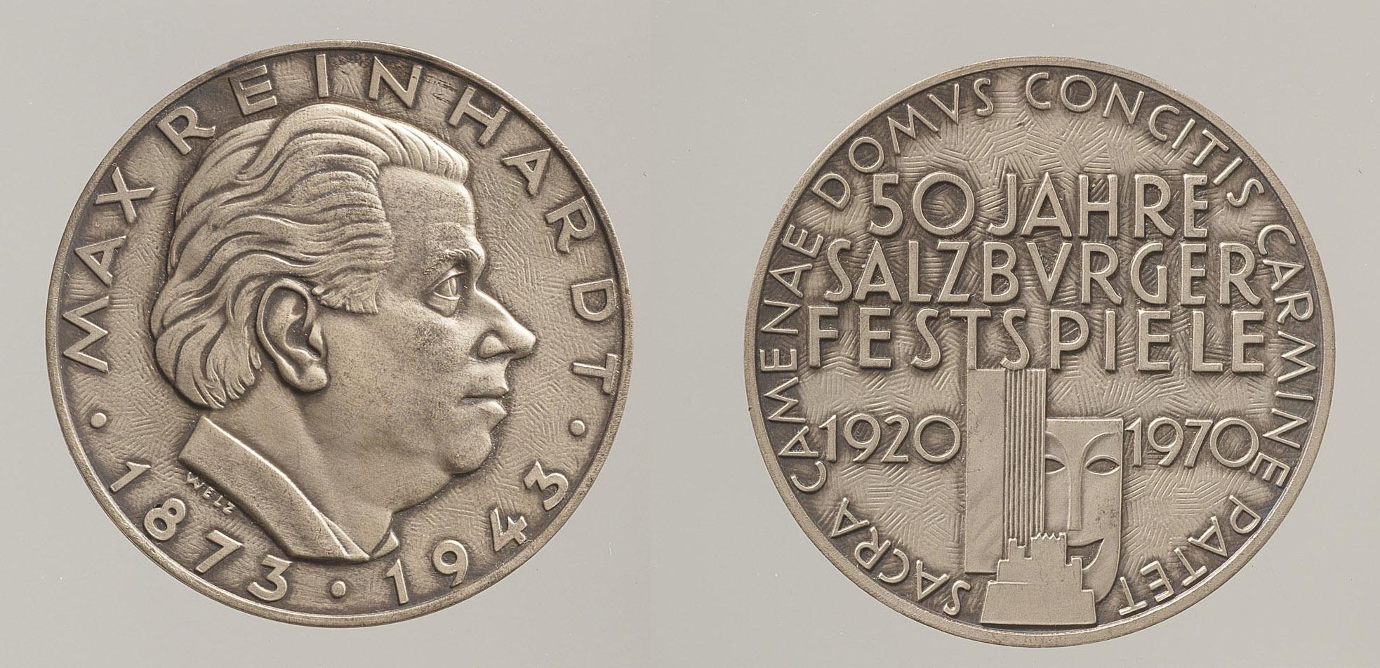 Medaille von Wilma Degischer