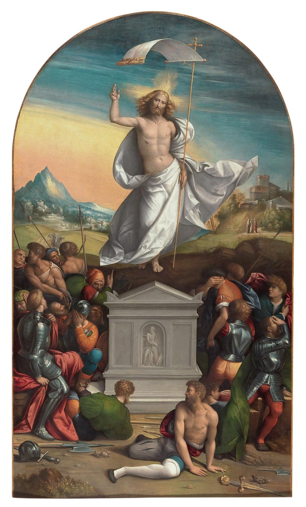 Auferstehung Christi von Benvenuto Tisi, gen. Il Garofalo