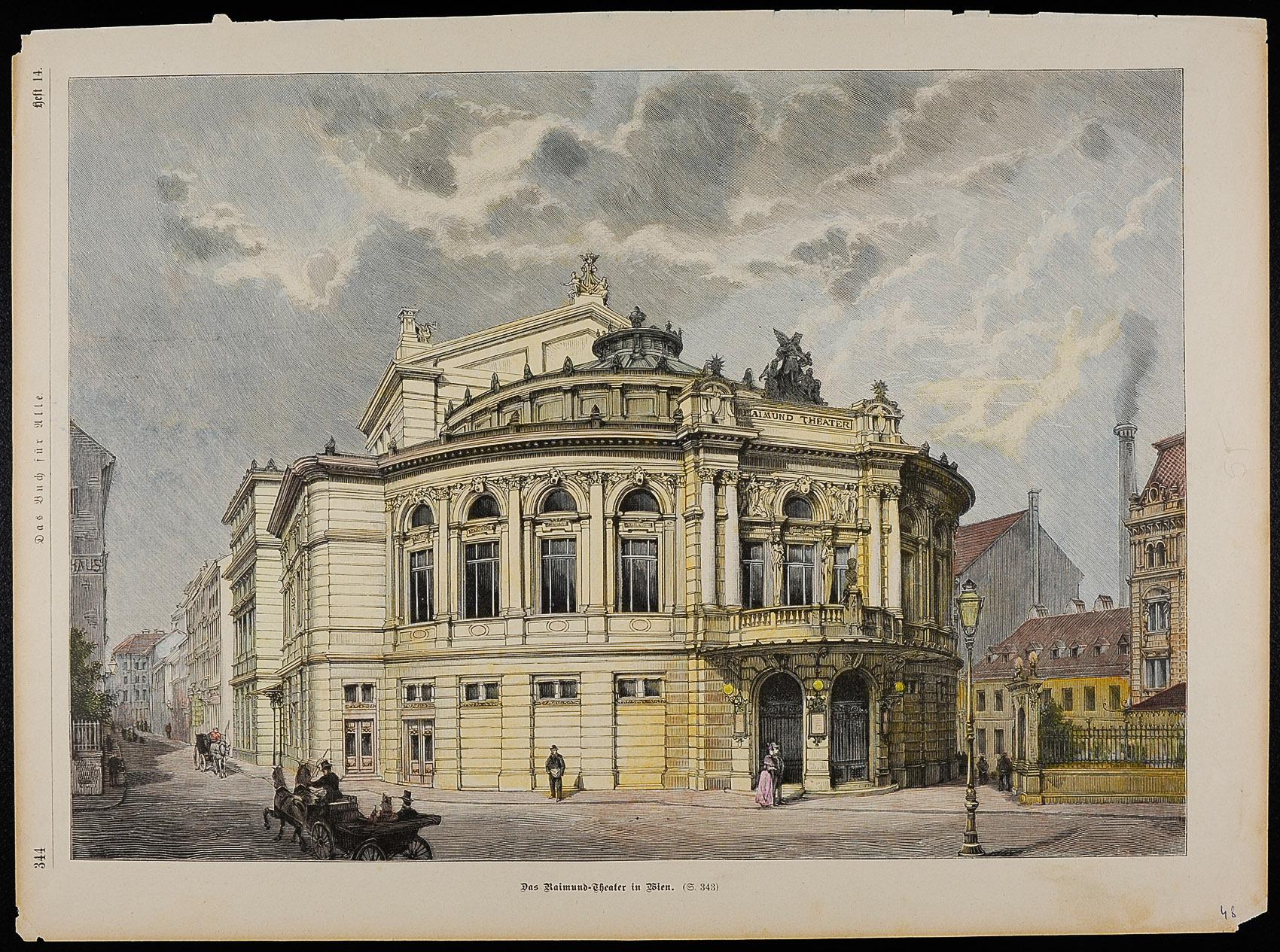 Wien, Raimundtheater von anonym
