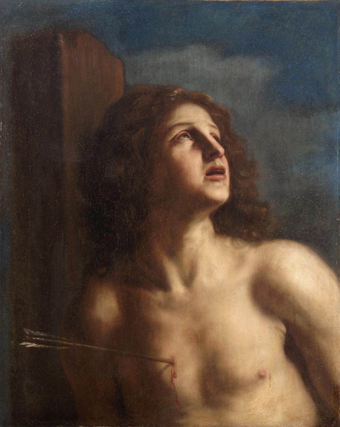 Hl. Sebastian von Giovanni Francesco Barbieri, gen. Il Guercino