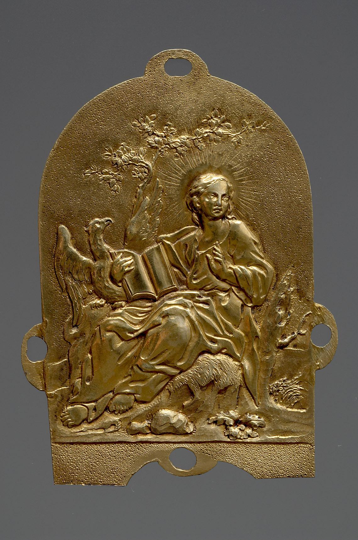 Evangelist Markus; Rest einer substitutorischen Reichskrone Kaiser Ferdinands III.
