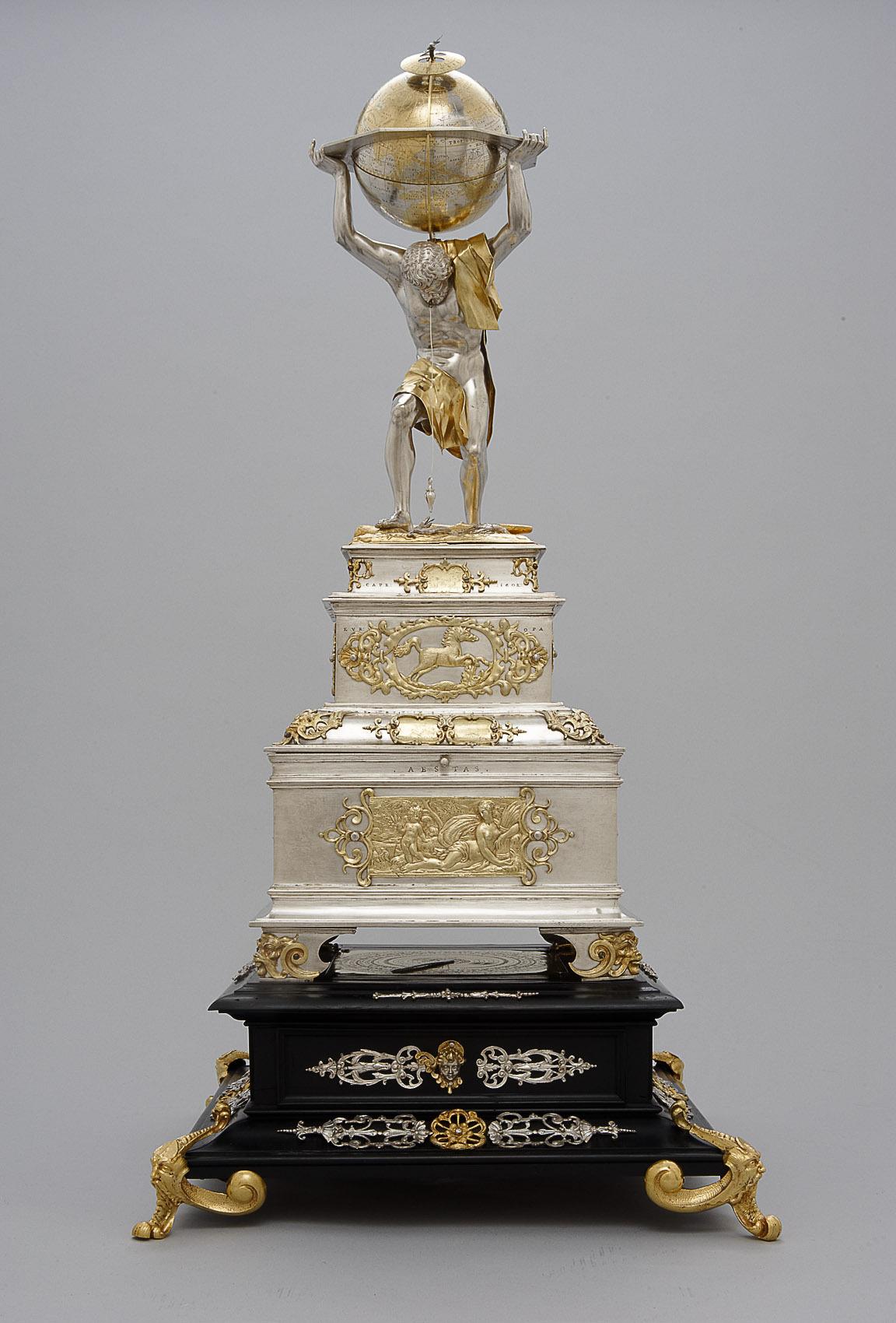 Kästchen mit wissenschaftlichem Besteck Kaiser Ferdinands III. von Johann Melchior Volckmair