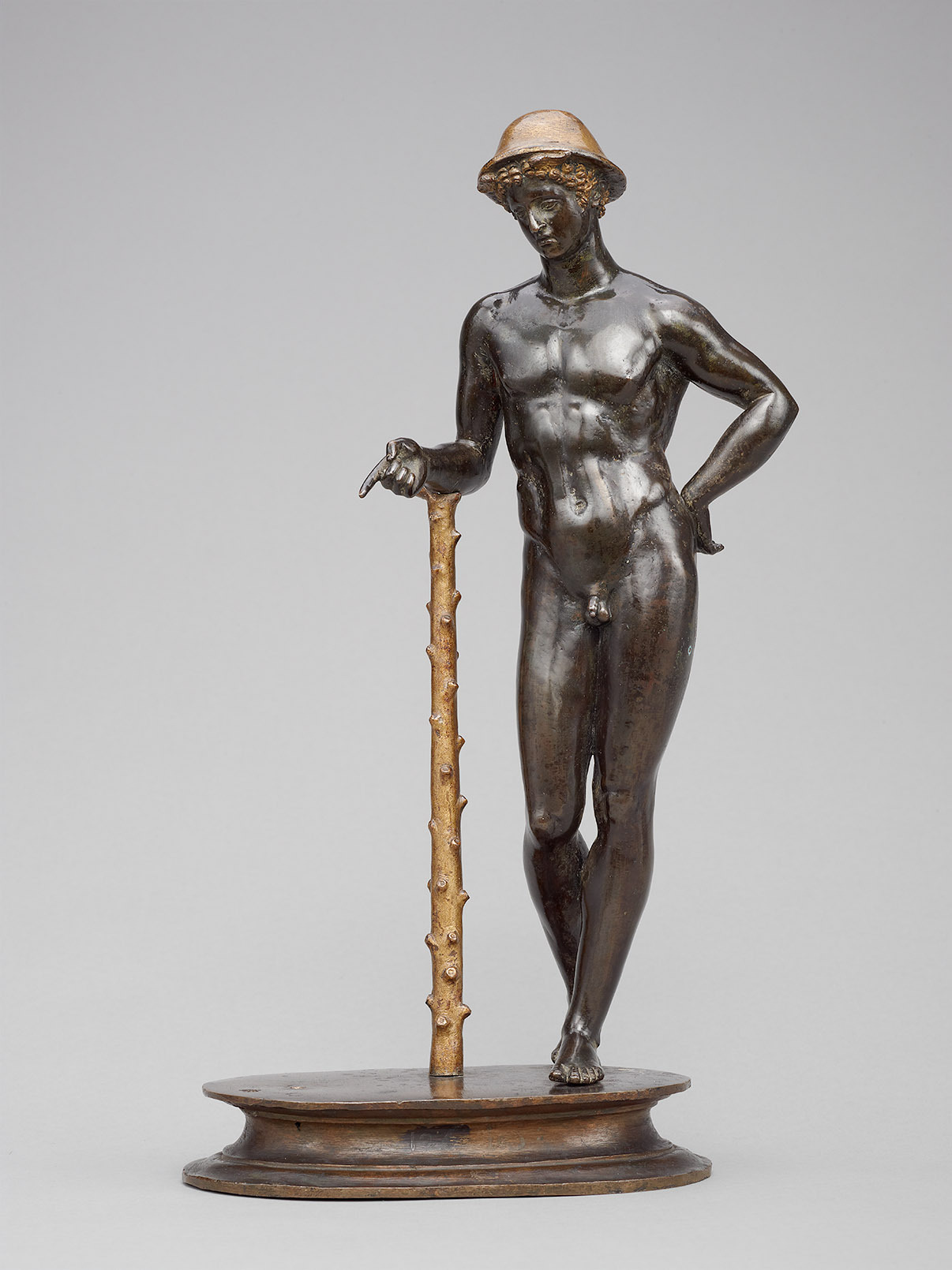 Merkur unterrichtet Cupido (Fragment) von Pier Jacopo Alari de Bonacolsi, gen. Antico