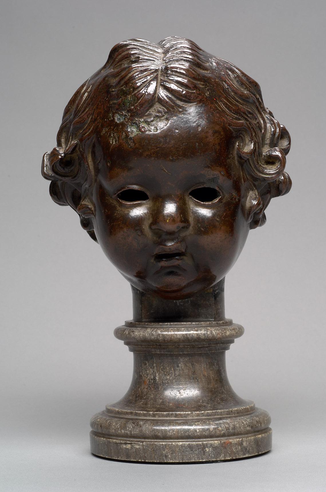 Kopf eines Kindes