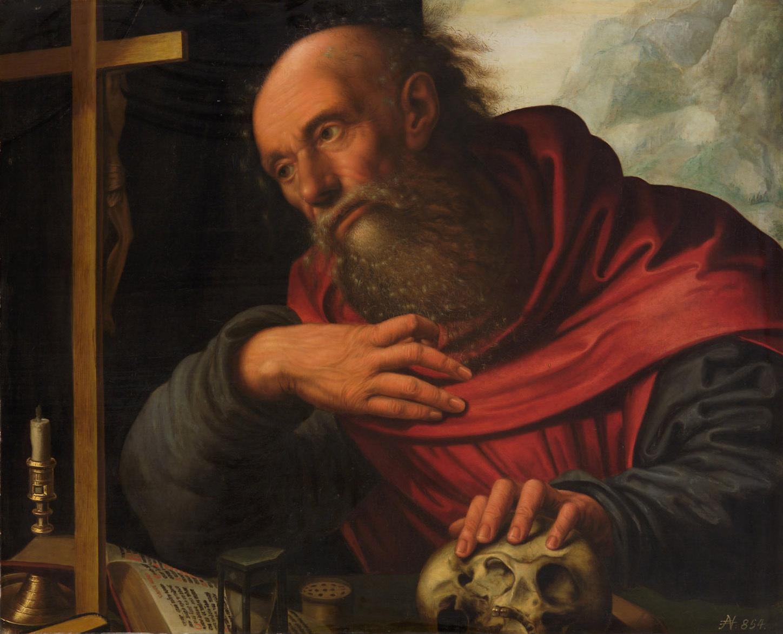 Hl. Hieronymus von Jan Sanders van Hemessen