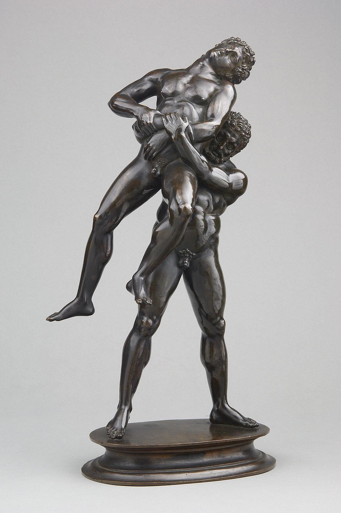 Herkules und Antäus von Pier Jacopo Alari de Bonacolsi, gen. Antico