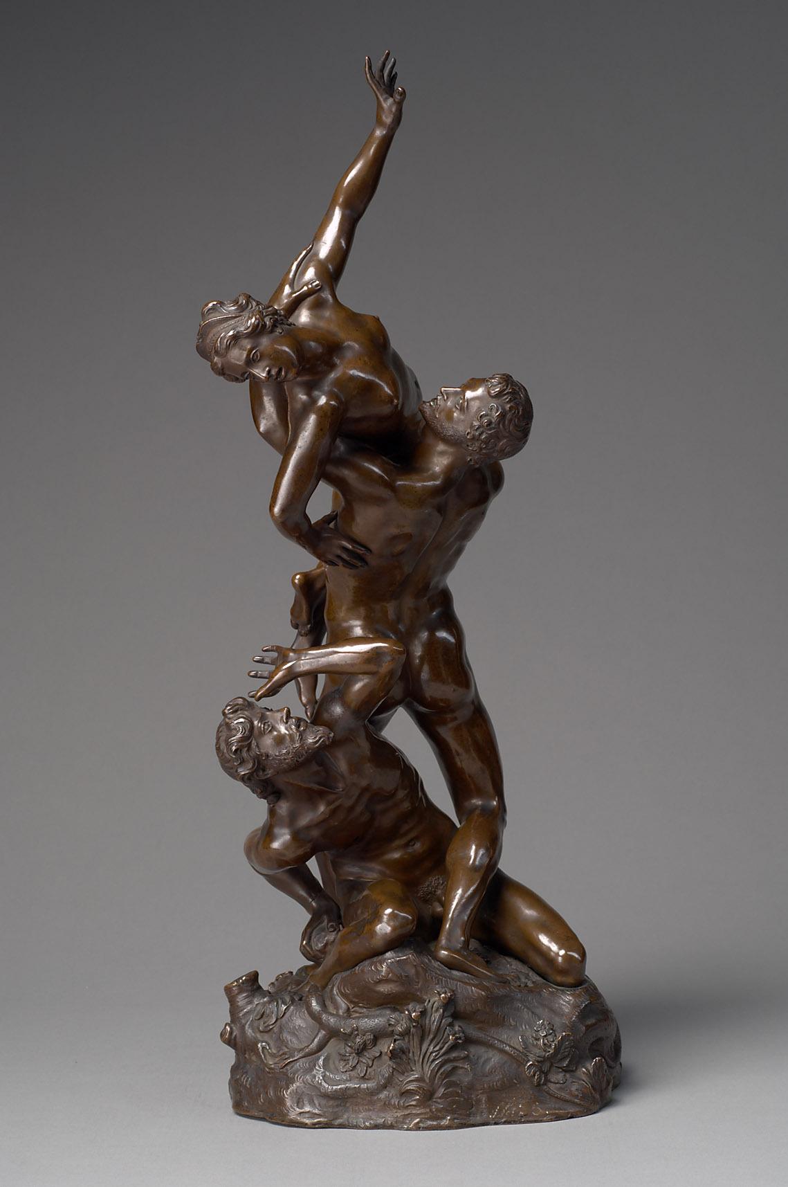 Dreifigurige Raptusgruppe (Raub der Sabinerin) von Giovanni Bologna, gen. Giambologna